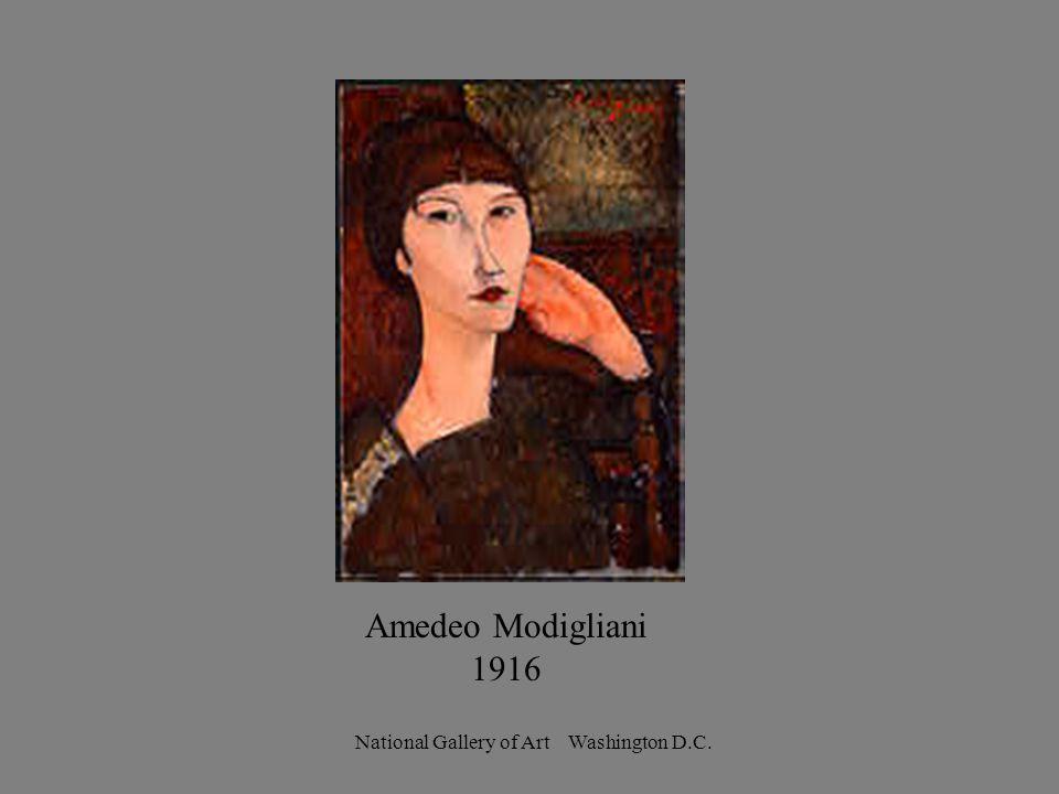 Amedeo Modigliani 1916 National Gallery of Art Washington D.C.