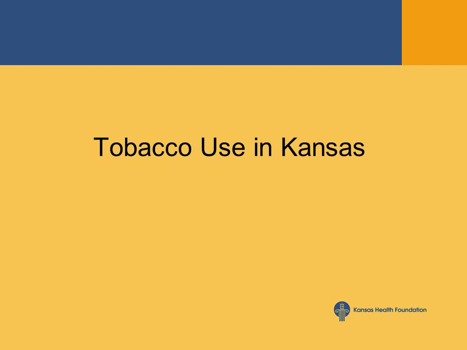 Tobacco Use in Kansas