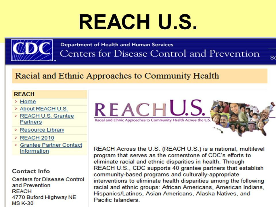 REACH U.S.