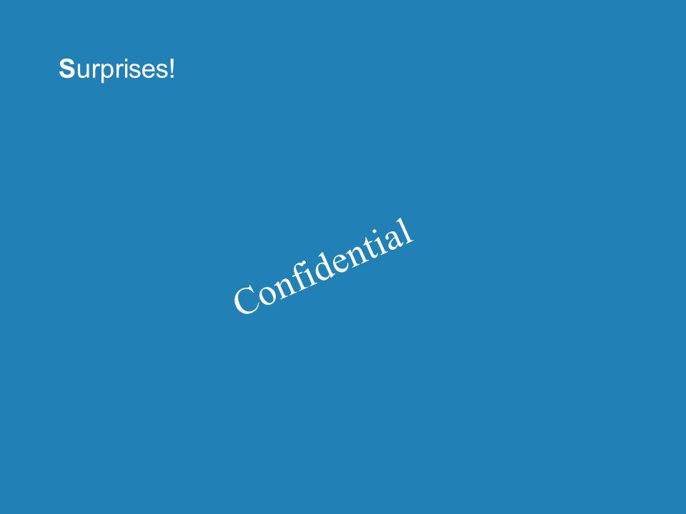 Surprises! Confidential
