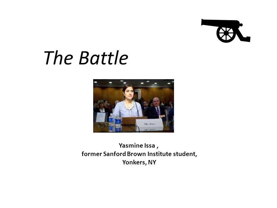 The Battle Yasmine Issa, former Sanford Brown Institute student, Yonkers, NY