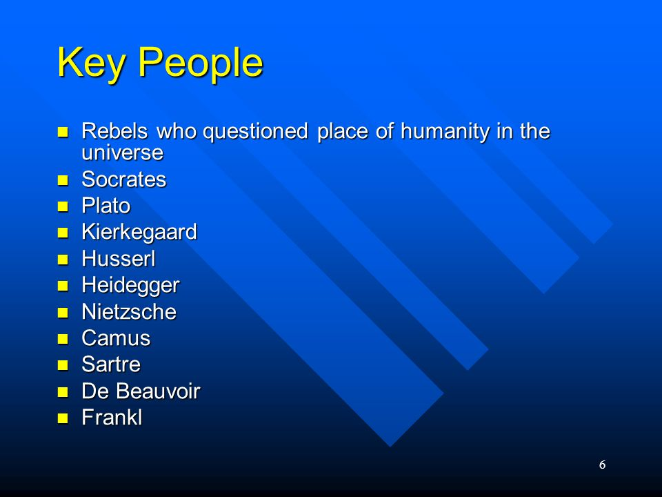 6 Key People Rebels who questioned place of humanity in the universe Rebels who questioned place of humanity in the universe Socrates Socrates Plato P
