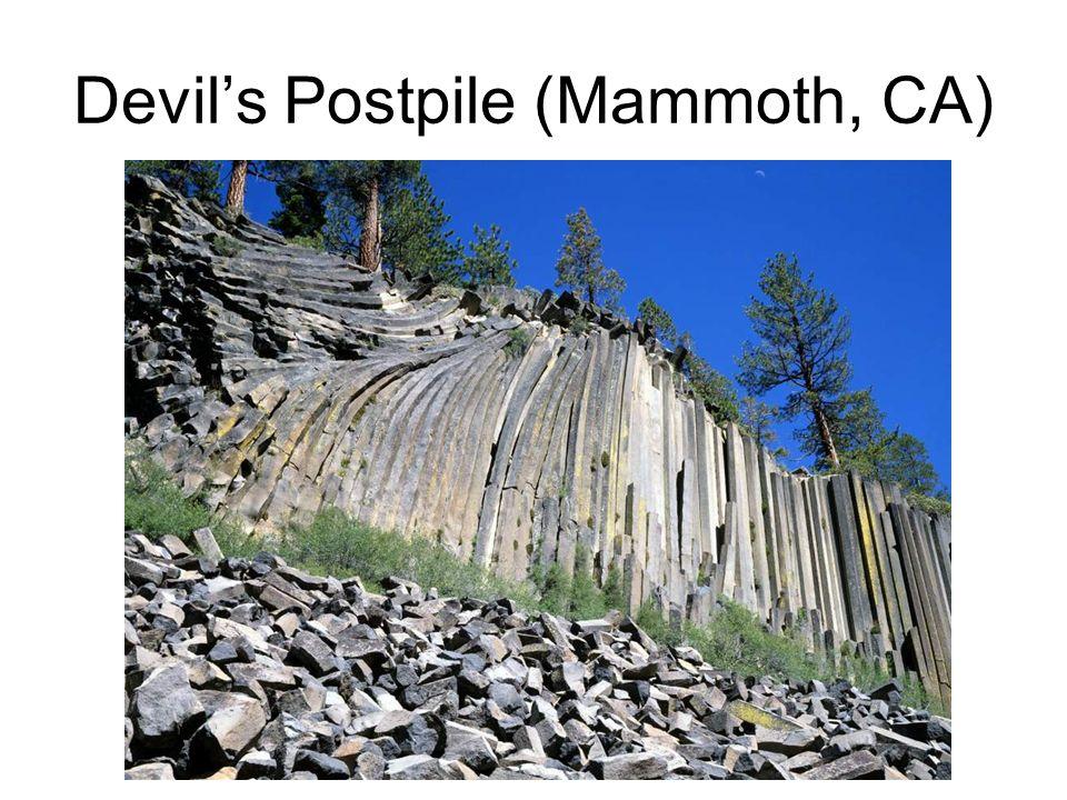 Devils Postpile (Mammoth, CA)