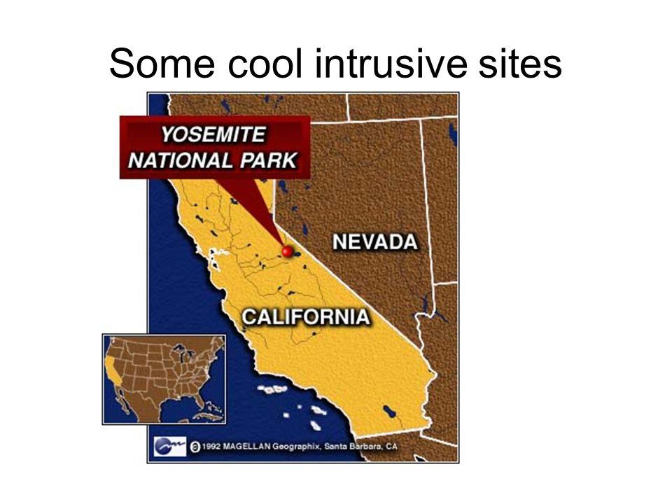 Some cool intrusive sites