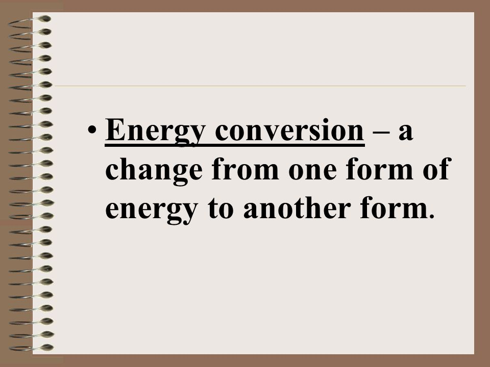 Now calculate Kinetic Energy KE = (½ 50Kg) X (9.8m/s)² = 2401 J 50Kg Whats its velocity if it falls for one second? Kinetic Energy = ½m x v²
