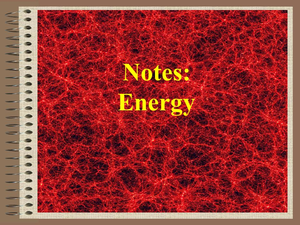 Electrical = energy caused by moving electric charges