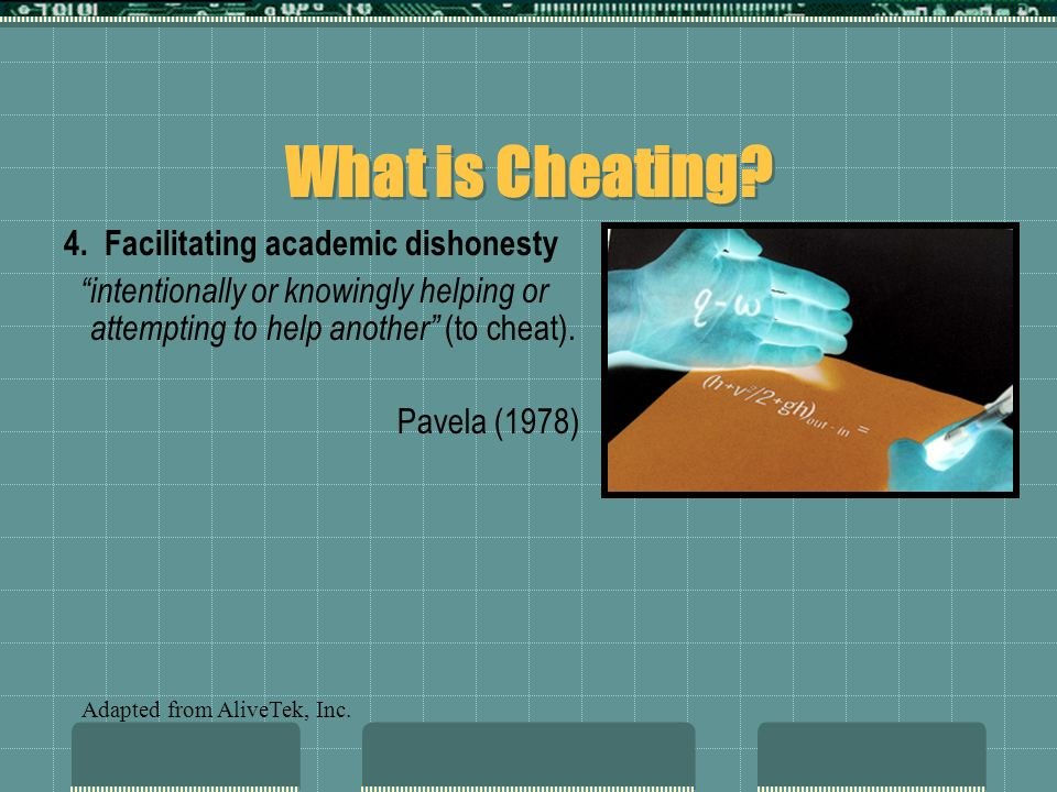 Internet Cheat Sites Many websites offer cheating advice to students.