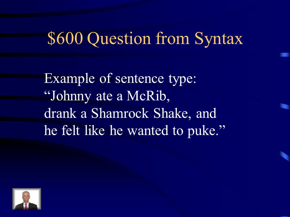 $400 Answer from Syntax What is a compound sentence