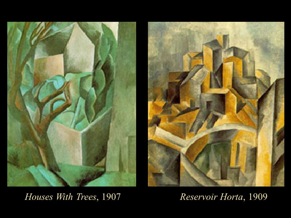 Houses With Trees, 1907Reservoir Horta, 1909
