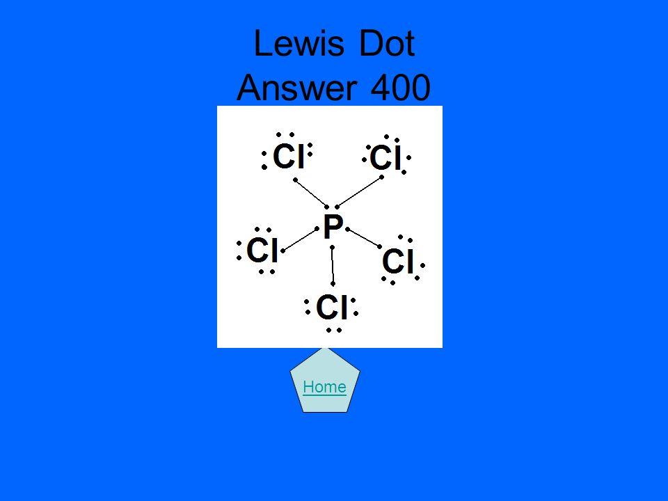 Lewis Dot Answer 400 Home