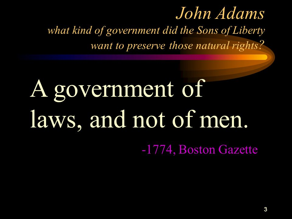 2 George Mason on the Natural Rights of Men That all men are by nature equally free and independent, and have certain inherent rights… namely, the enj