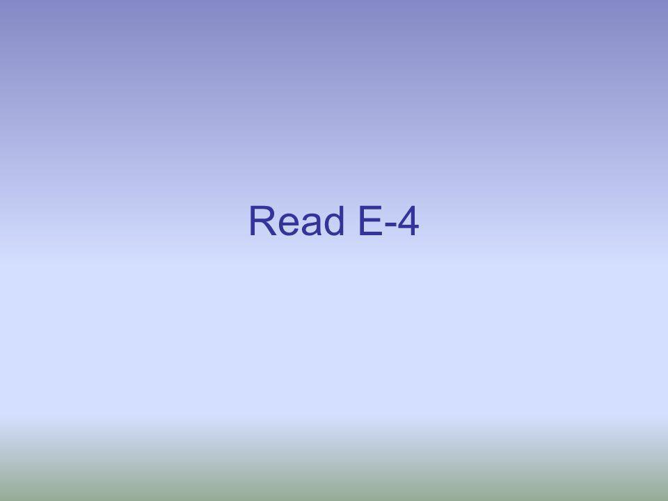Read E-4
