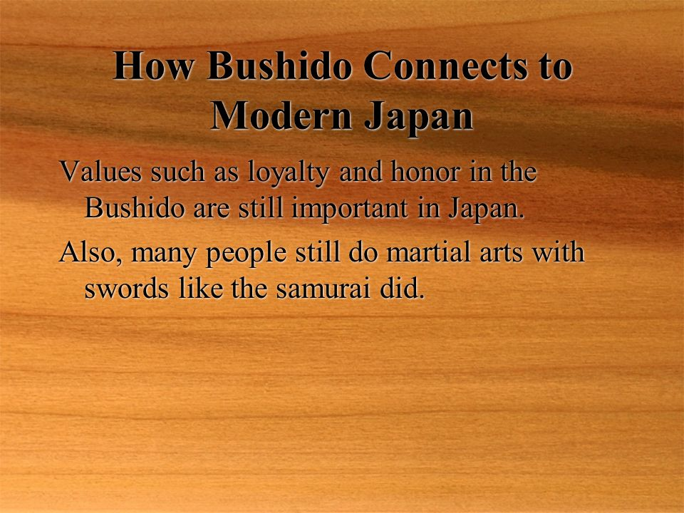 Samurai and Honor Honor was very important to samurai. The Bushido required samurai to be brave and honorable fighters. Samurai could lose honor by lo