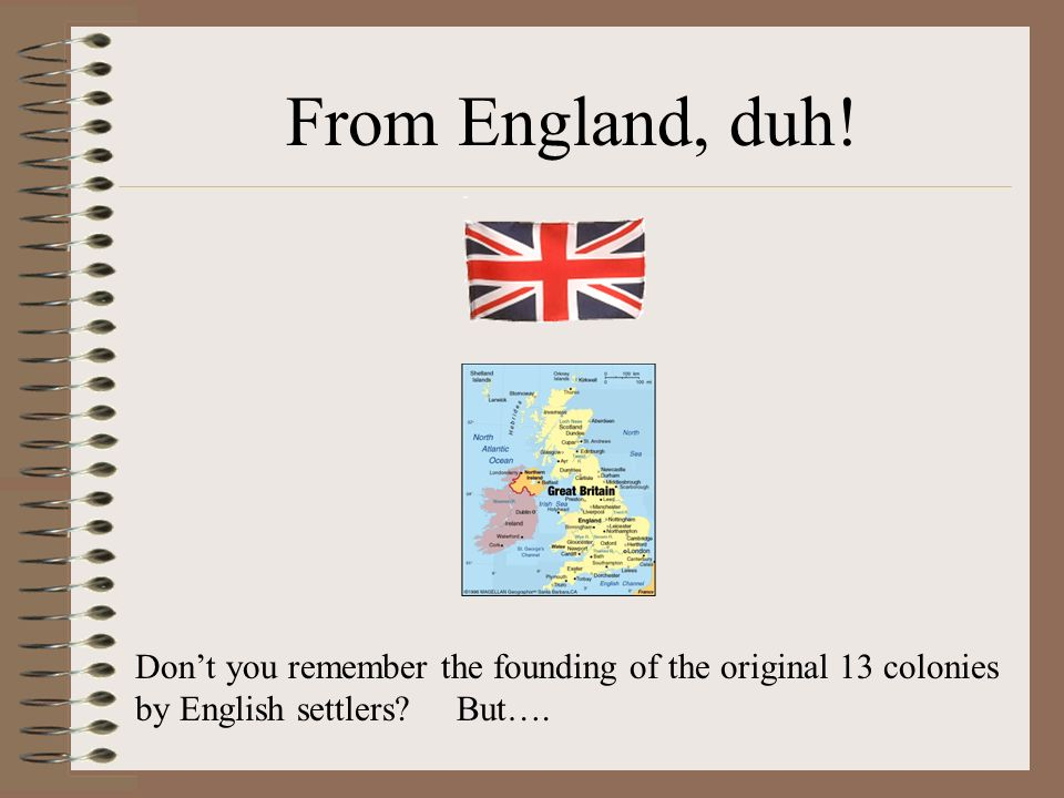 Where did our English language come from?