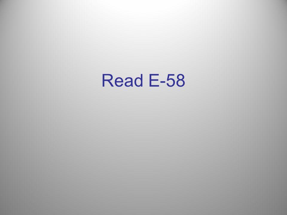 Read E-58