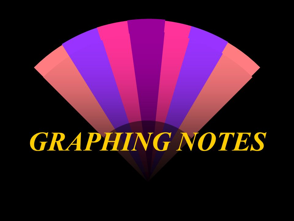 GRAPHING NOTES