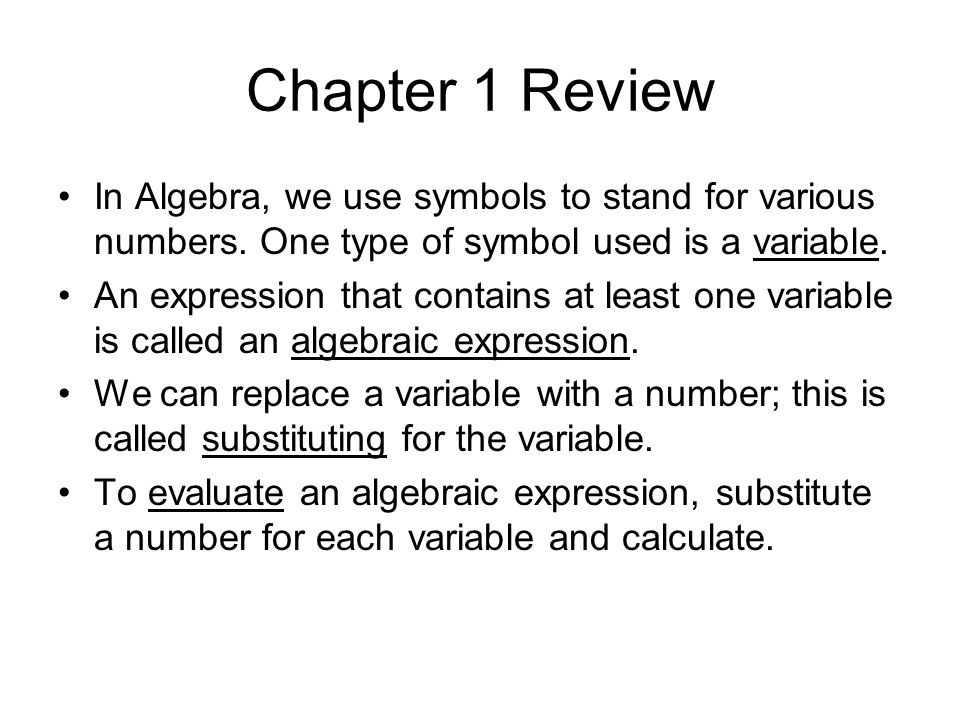 Definitions continued… Natural numbers are the numbers used for counting.