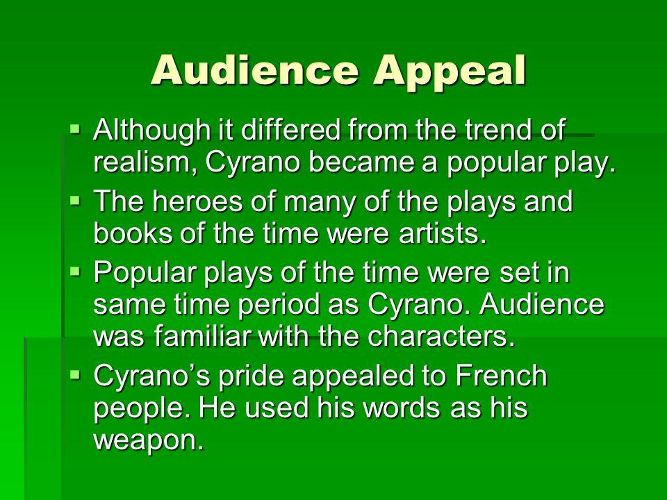 Setting Cyrano de Bergerac is set in France.Cyrano de Bergerac is set in France.