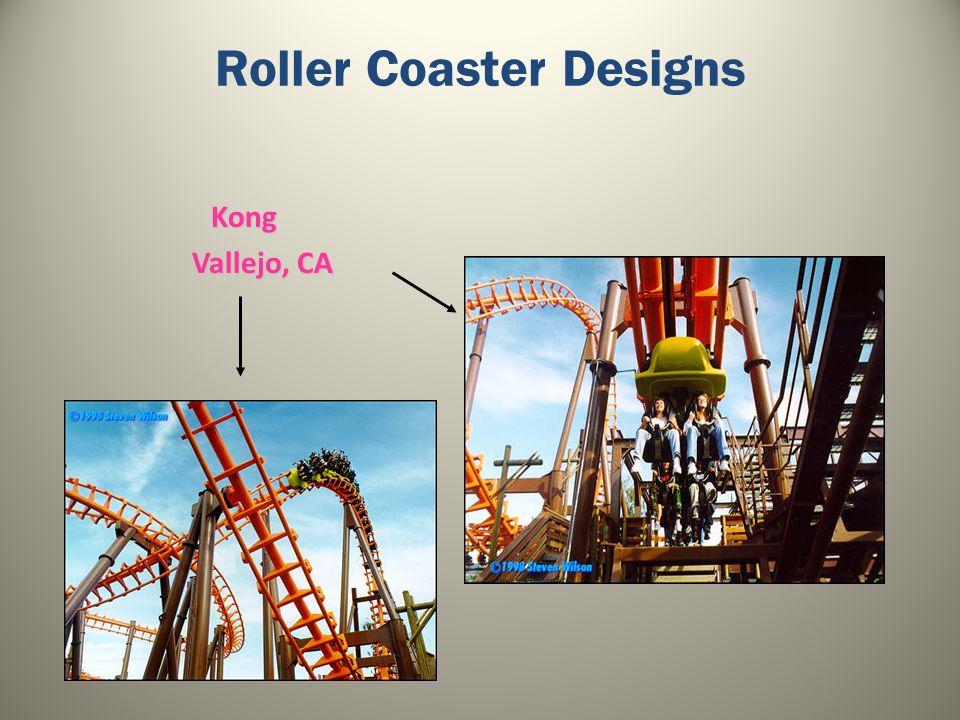 Roller Coaster Designs Kong Vallejo, CA