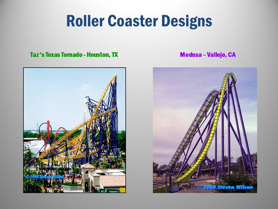 More Roller Coaster Designs The Demon – Santa Clara, CA