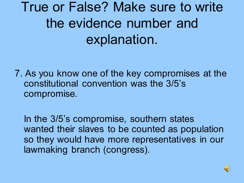 True or False? Make sure to write the evidence number and explanation. 6. In the committee action of the bill to law process, a small group (committee