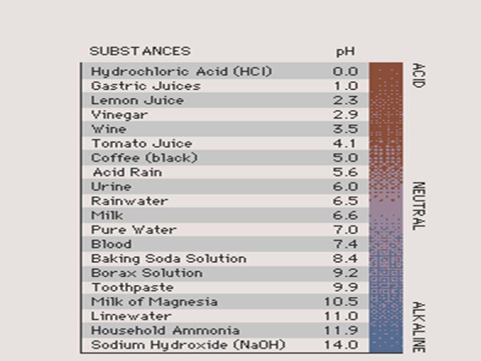 Bases l Ammonia l Lye l Sodium hydroxide l Baking soda slippery
