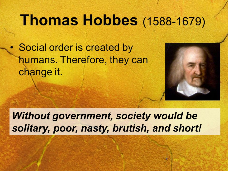 Perspectives on Human Nature and Government Hobbes, Locke, and Rousseau