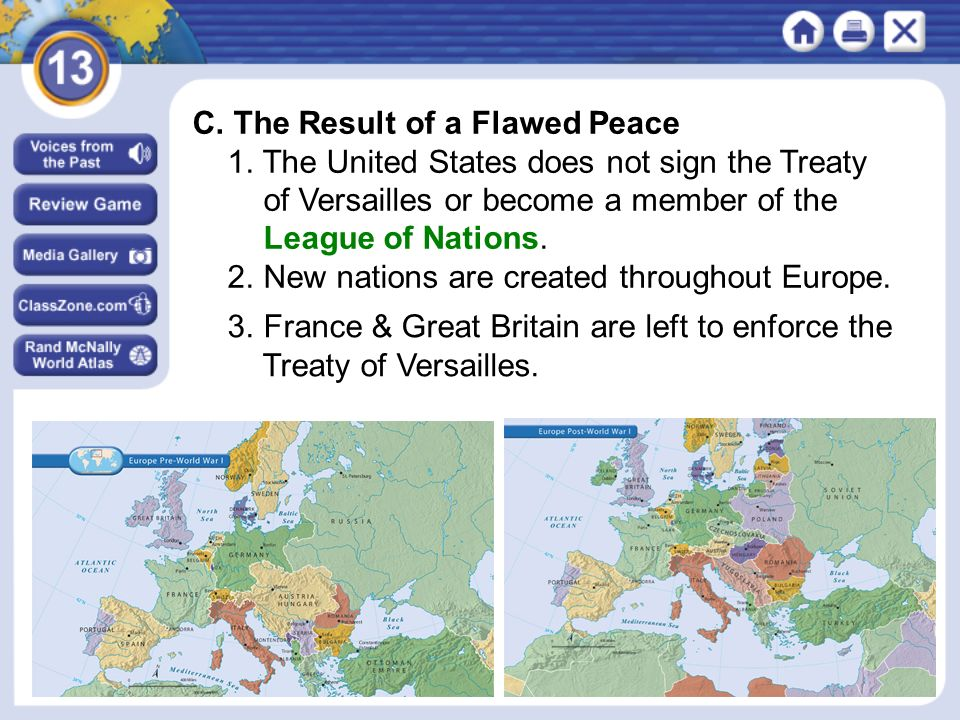 NEXT C. The Result of a Flawed Peace 1.