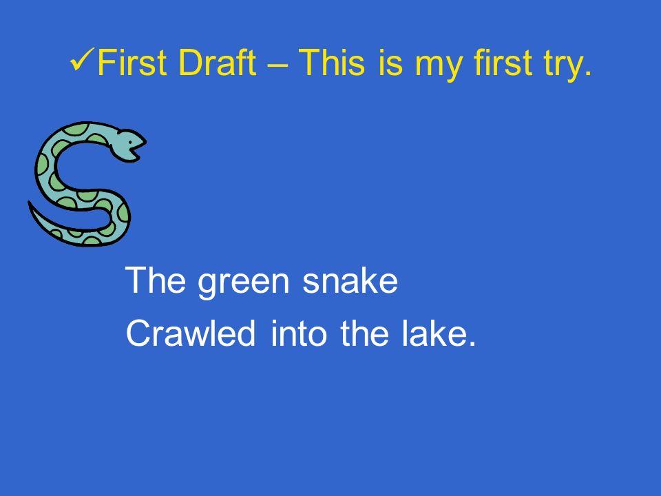 Topic Snake Rhyming Words Snake Lake
