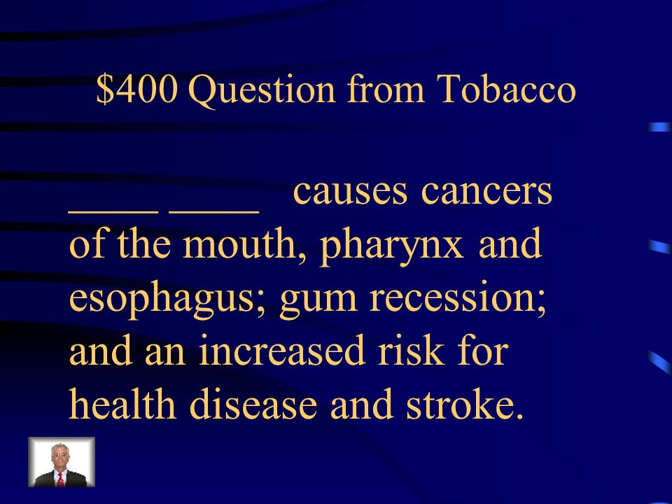 $300 Answer from Tobacco Young People (Teens)