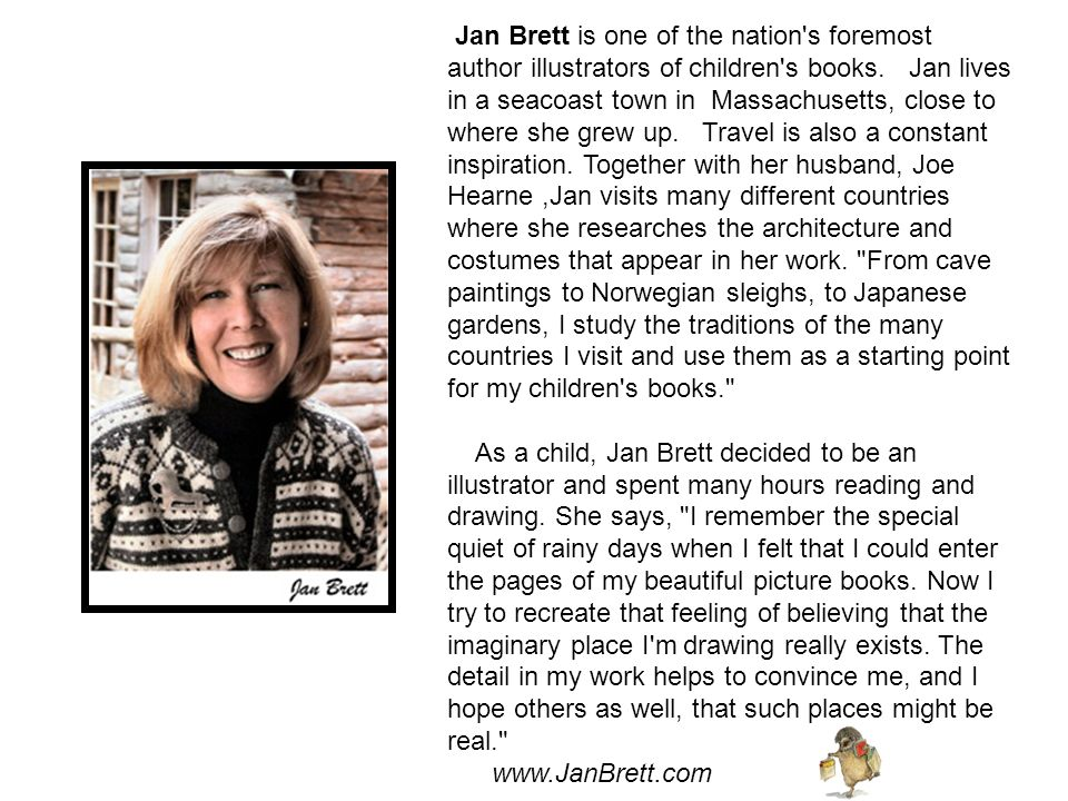 Mrs. Brett gave each child in our school a free copy of her book, The Three Snow Bears!!!