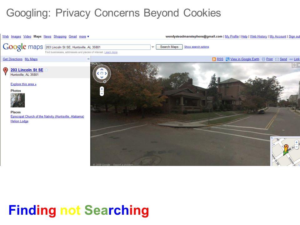 Googling: Privacy Concerns Beyond Cookies