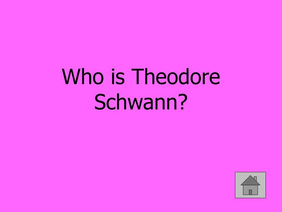 Who is Theodore Schwann?