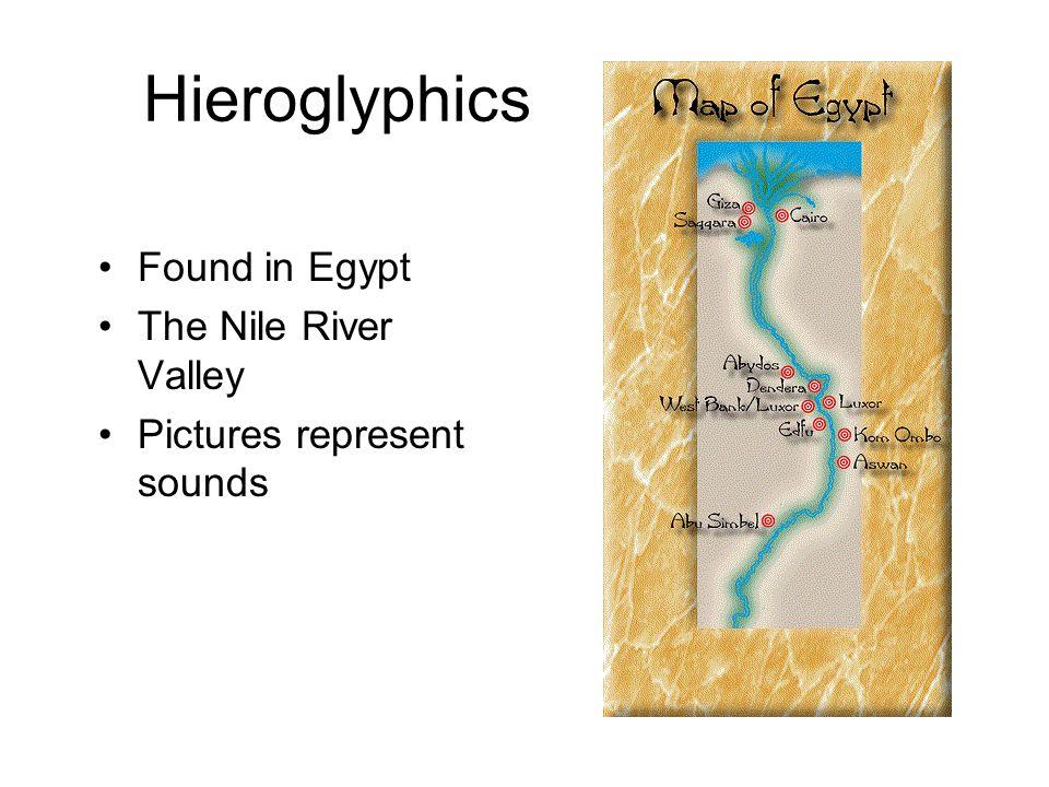 Hieroglyphics This is the cartouche of Pharoah Hatshepsut.