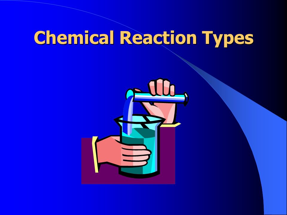 Chemical Reaction Types