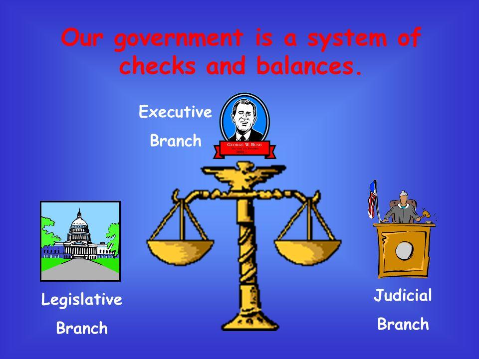 Executive Legislative Judicial