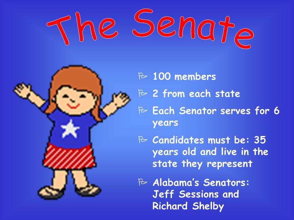 PIncludes Congress 1.Senate 2.House of Representatives PMain job: make laws U. S. Capitol Building