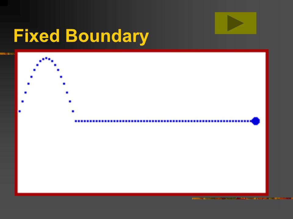 Fixed Boundary