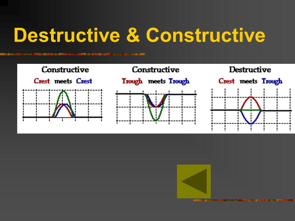 Destructive & Constructive