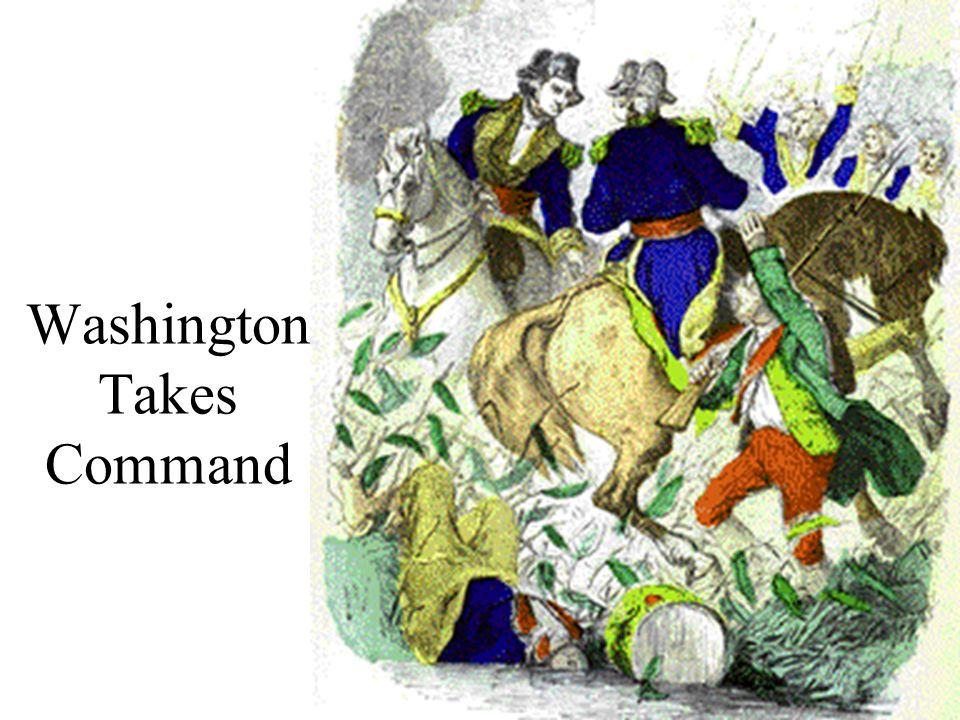 Washington Takes Command