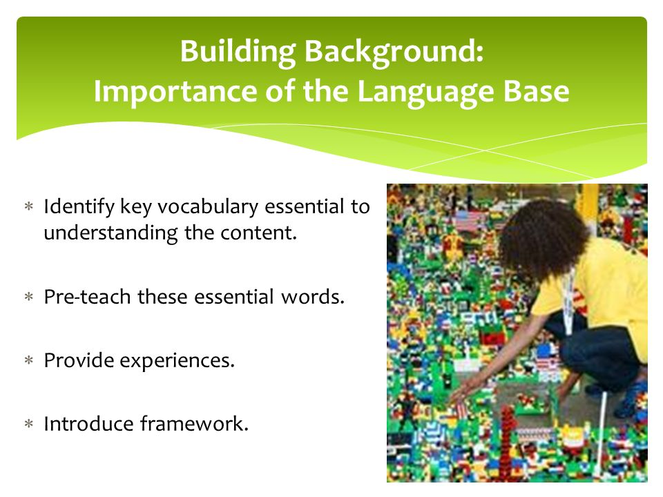 Identify key vocabulary essential to understanding the content.