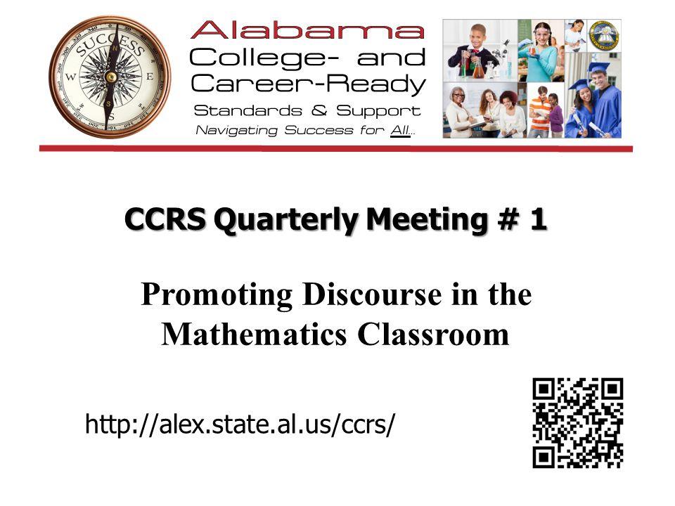 Envision a Discourse Rich Math Class How does teacher best practice produce student math practices.