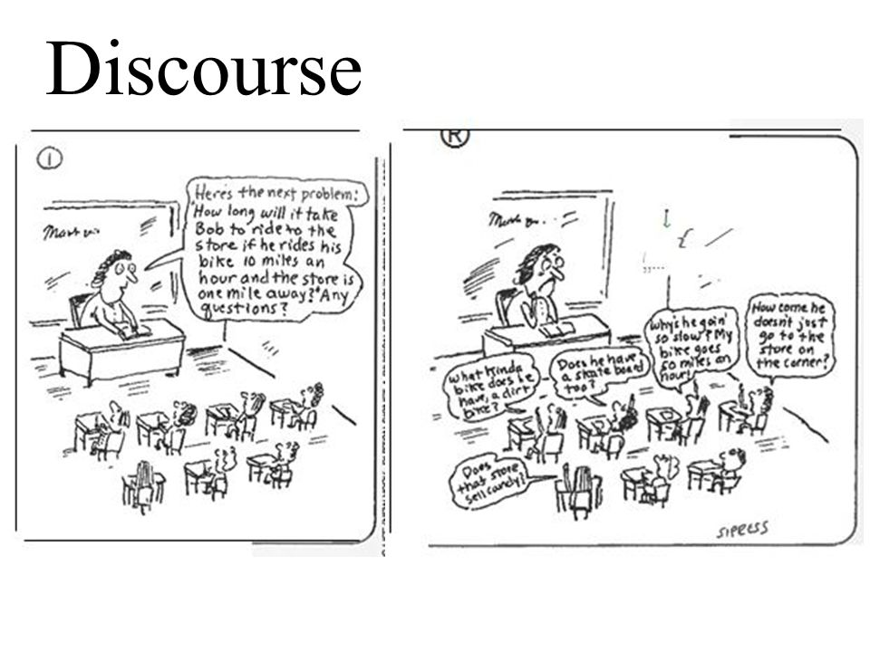 What is Discourse.How do you define student discourse.