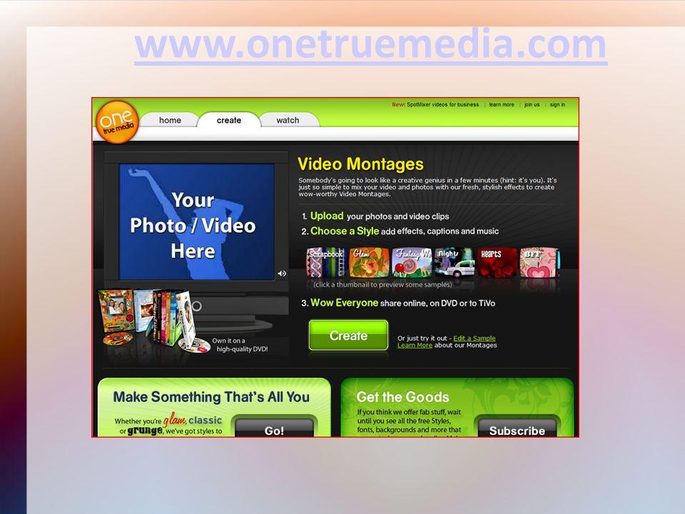 www.onetruemedia.com