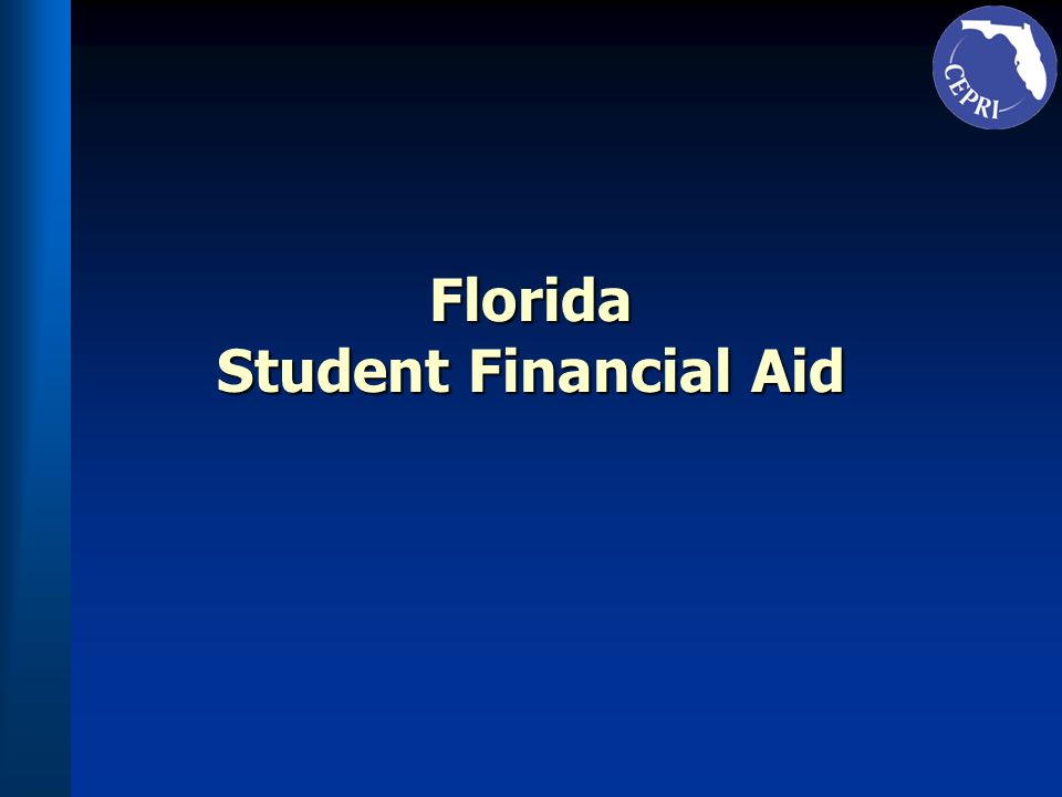 Florida Student Financial Aid