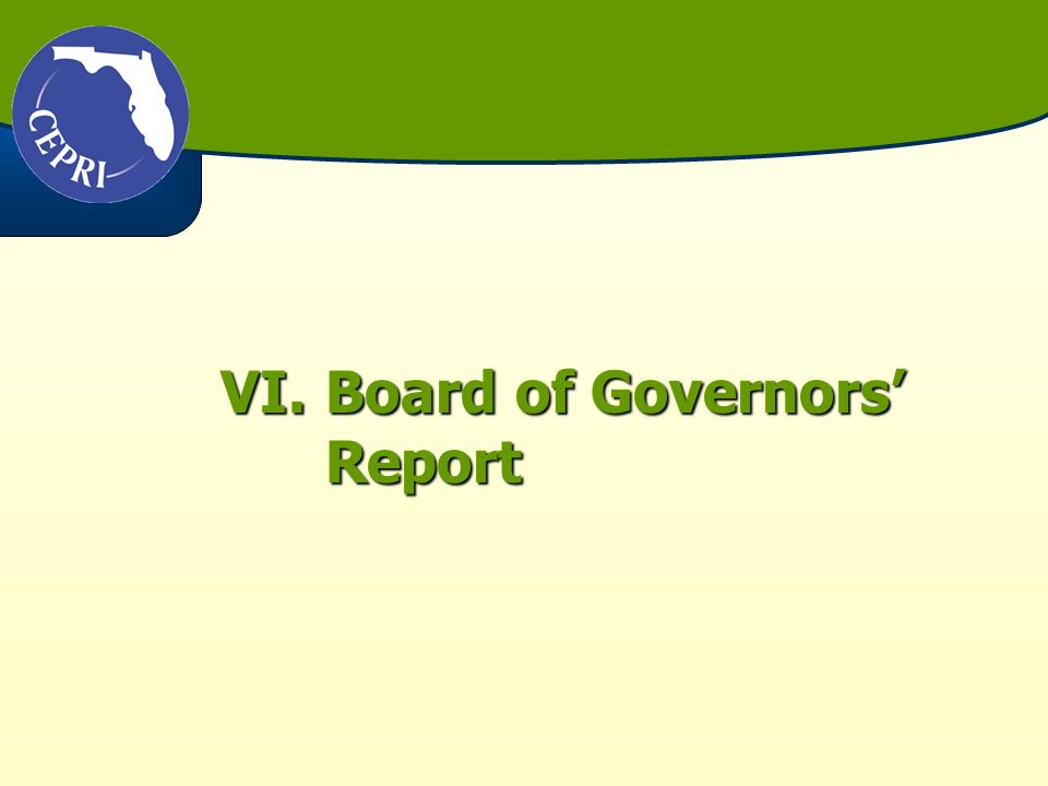 Recommendations #1 – Clarify contract is between Board of Governors and university Board of Trustees