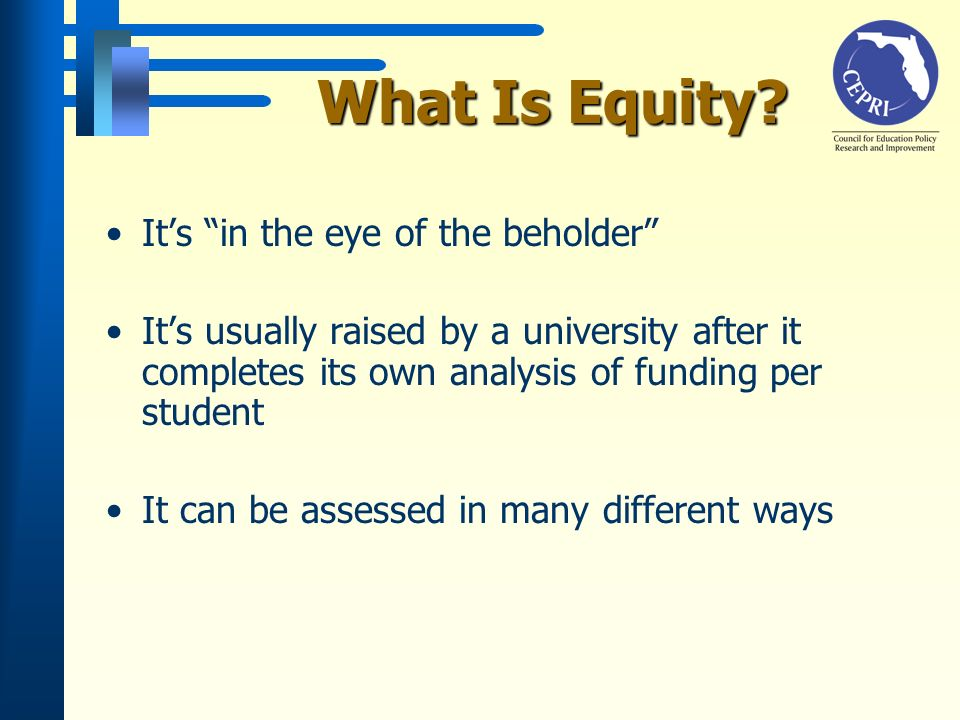 What Is Equity.