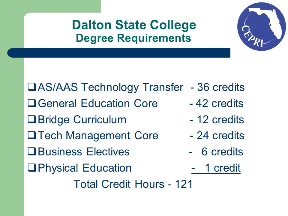 Community College: Okaloosa Walton College College approved to offer BAS degree in Project and Acquisitions Management.