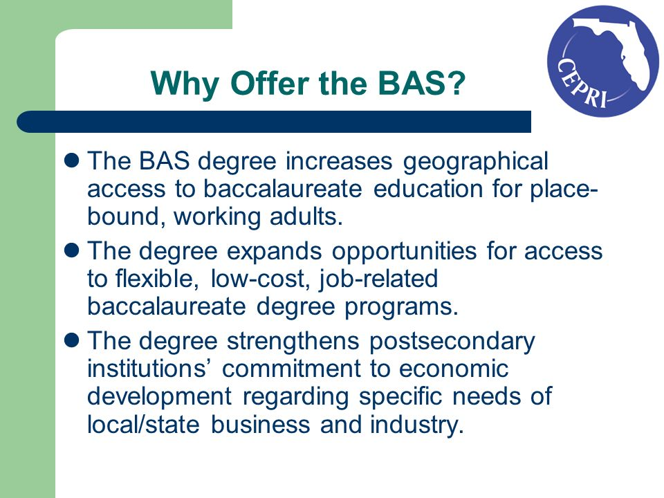The BAS Degree: An International Degree Bachelor of Applied Science Degree programs are not limited to universities in the United States but are common in Canada, the United Kingdom, Australia and New Zealand.