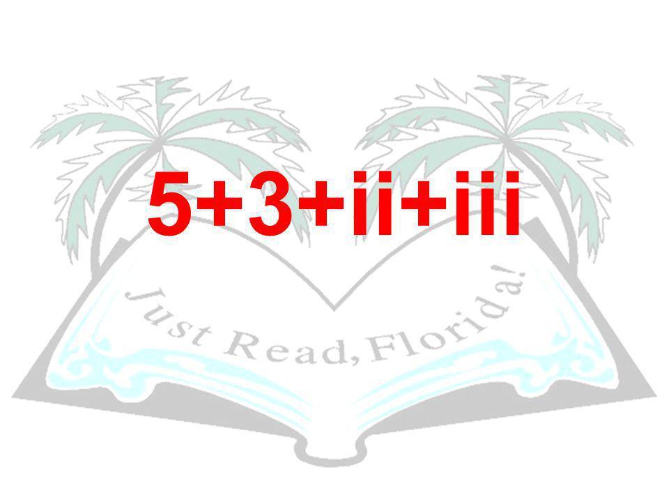 5+3+ii+iii